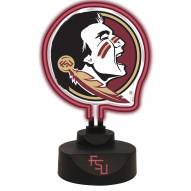 Florida State Seminoles Team Logo Neon Light
