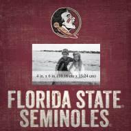"Florida State Seminoles Team Name 10"" x 10"" Picture Frame"