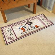 Florida State Seminoles Ticket Runner Rug