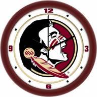 Florida State Seminoles Traditional Wall Clock