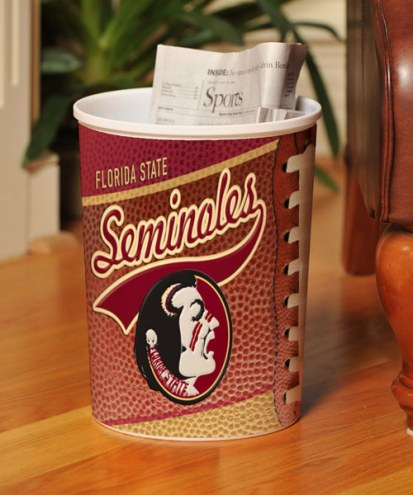 Florida State Seminoles Trash Can
