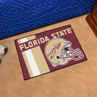 Florida State Seminoles Uniform Inspired Starter Rug