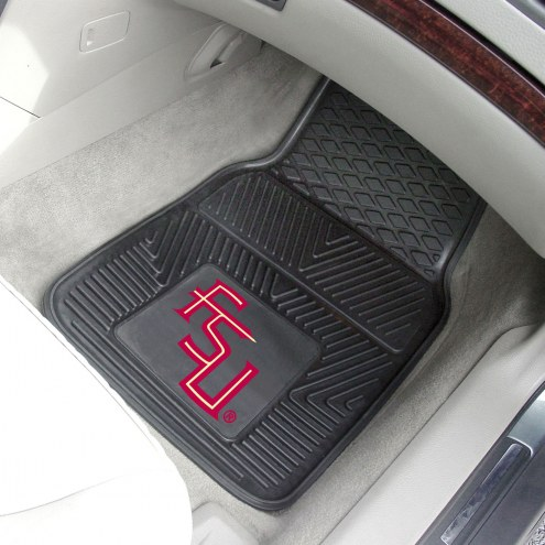 Florida State Seminoles Vinyl 2-Piece Car Floor Mats