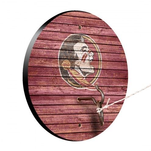 Florida State Seminoles Weathered Design Hook & Ring Game