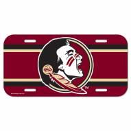 Florida State Seminoles License Plate