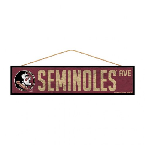 Florida State Seminoles Wood Avenue Sign