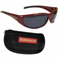 Florida State Seminoles Wrap Sunglasses and Case Set