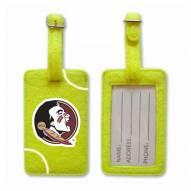Florida State Seminoles Tennis Luggage Tag