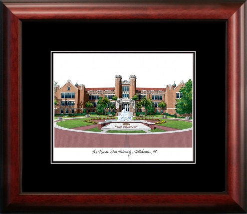Florida State University Academic Framed Lithograph