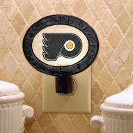 Philadelphia Flyers NHL Stained Glass Night Light