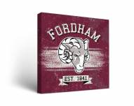 Fordham Rams Banner Canvas Wall Art