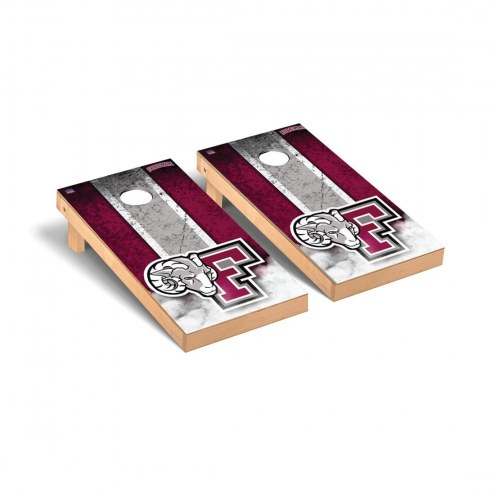 Fordham Rams Mini Cornhole Set