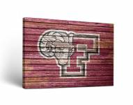 Fordham Rams Weathered Canvas Wall Art