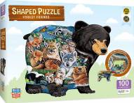 Forest Friends 100 Piece Shaped Puzzle