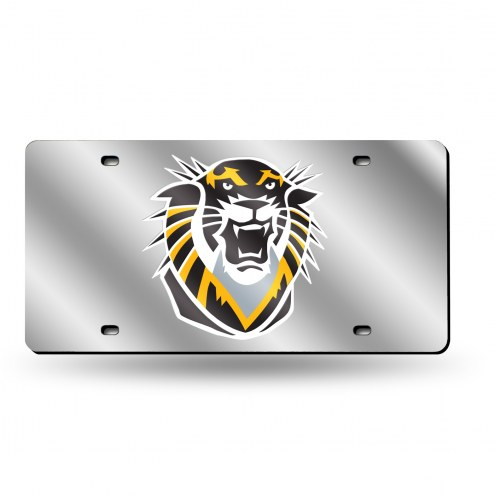 Fort Hays State Tigers Silver Laser Cut License Plate