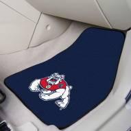 Fresno State Bulldogs 2-Piece Carpet Car Mats