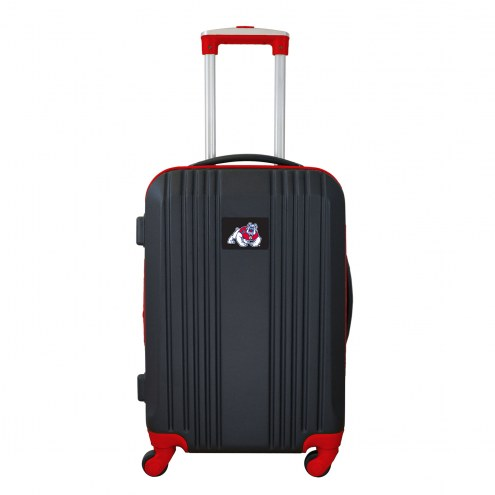 """Fresno State Bulldogs 21"""" Hardcase Luggage Carry-on Spinner"""