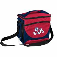 Fresno State Bulldogs 24 Can Cooler