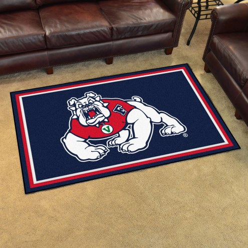 Fresno State Bulldogs 4' x 6' Area Rug