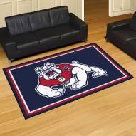 Fresno State Bulldogs 5' x 8' Area Rug