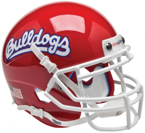 Fresno State Bulldogs Alternate 1 Schutt Mini Football Helmet