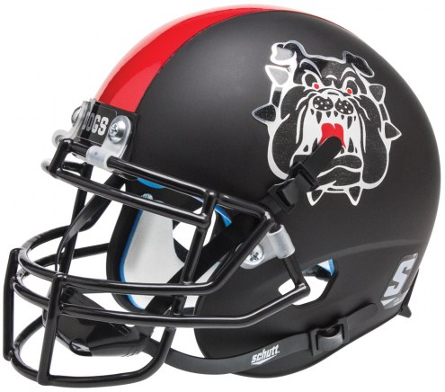 Fresno State Bulldogs Alternate 3 Schutt XP Collectible Full Size Football Helmet