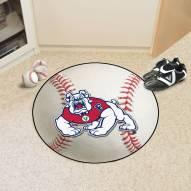 Fresno State Bulldogs Baseball Rug