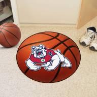 Fresno State Bulldogs Basketball Mat