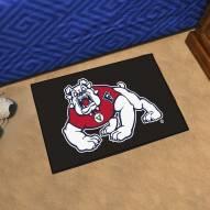 Fresno State Bulldogs Black Starter Rug