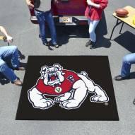 Fresno State Bulldogs Black Tailgate Mat