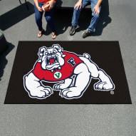 Fresno State Bulldogs Black Ulti-Mat Area Rug
