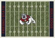 Fresno State Bulldogs College Home Field Area Rug