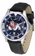 Fresno State Bulldogs Competitor AnoChrome Men's Watch - Color Bezel