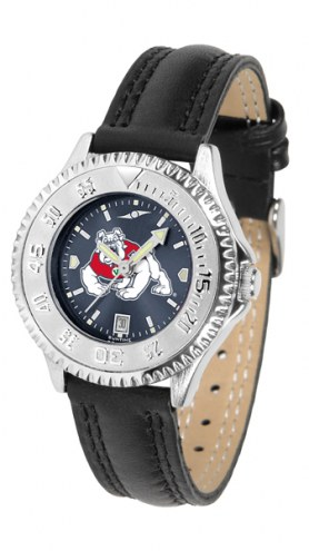 Fresno State Bulldogs Competitor AnoChrome Women's Watch