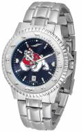 Fresno State Bulldogs Competitor Steel AnoChrome Men's Watch