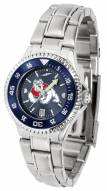 Fresno State Bulldogs Competitor Steel AnoChrome Women's Watch - Color Bezel