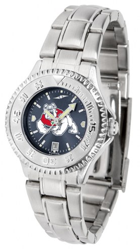Fresno State Bulldogs Competitor Steel AnoChrome Women's Watch
