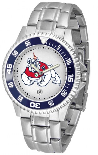 Fresno State Bulldogs Competitor Steel Men's Watch