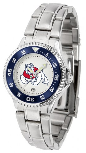 Fresno State Bulldogs Competitor Steel Women's Watch