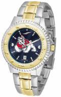 Fresno State Bulldogs Competitor Two-Tone AnoChrome Men's Watch
