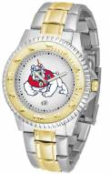 Fresno State Bulldogs Competitor Two-Tone Men's Watch