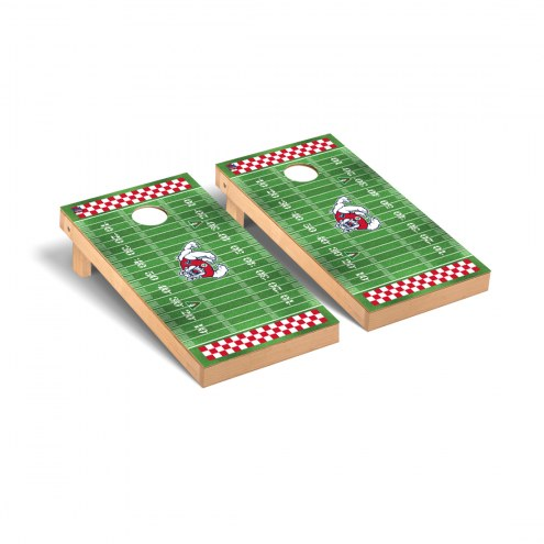 Fresno State Bulldogs Football Field Cornhole Game Set