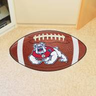 Fresno State Bulldogs Football Floor Mat