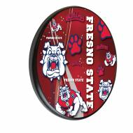Fresno State Bulldogs Digitally Printed Wood Sign