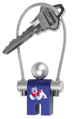 Fresno State Bulldogs Jumper Keychain