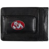 Fresno State Bulldogs Leather Cash & Cardholder