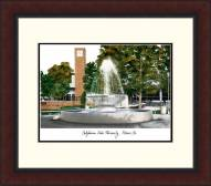 Fresno State Bulldogs Legacy Alumnus Framed Lithograph