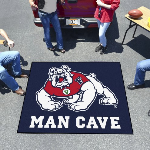Fresno State Bulldogs Man Cave Tailgate Mat
