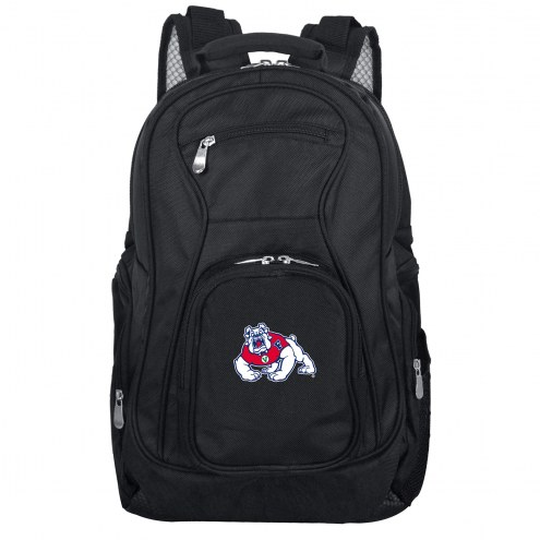 Fresno State Bulldogs Laptop Travel Backpack