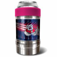 Fresno State Bulldogs Pink 12 oz. Locker Vacuum Insulated Can Holder